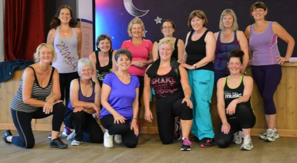 Zumba® fitness class